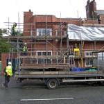 36 Mellalieu Stret scaffolding