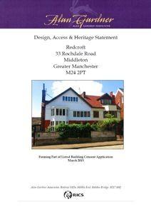 Redcroft Heritage Statement