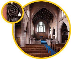 Middleton's Golden Cluster Arts & Crafts Church