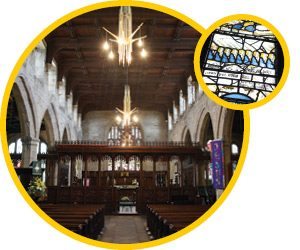 Middleton's Golden Cluster St Leonard's Church