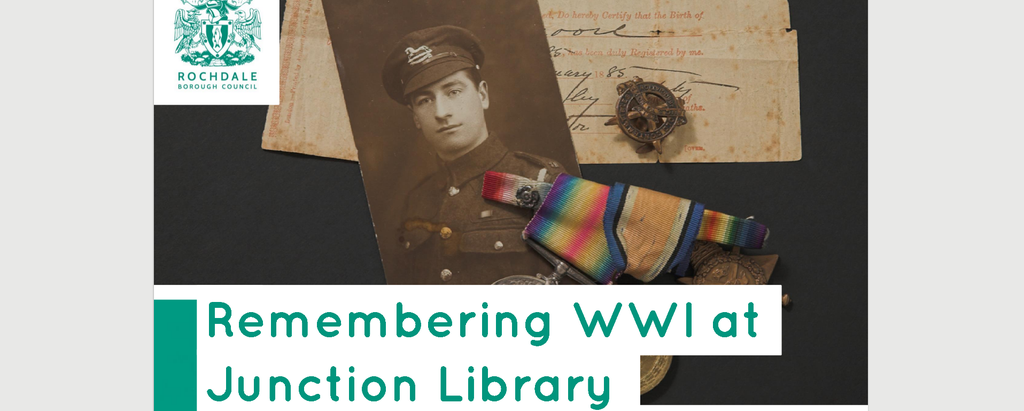 EVENT – Remembering WWI at Junction Library – 27th April 2017