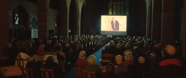 "Massive turnout for Edgar Wood Film, ""A Painted Veil"""