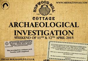 Poster for April 2015 Hopwood Mill