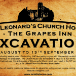 Poster for August September 2015 Church House