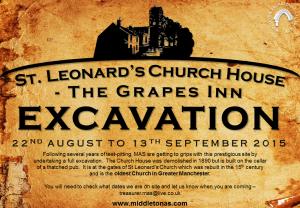 Poster for August September 2015 Church House