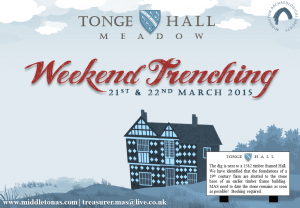Poster for March 2015 Tonge Hall