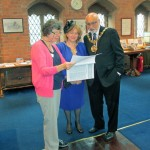 Mayor Surinder Biant and Mayoress Cecile Biant